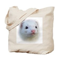 Ferret Face Tote Bag