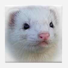 Ferret Face Tile Coaster