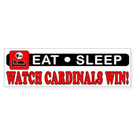 CARDINALS WIN! Bumper Sticker