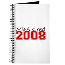 MBA Grad 2008 (Red) Journal