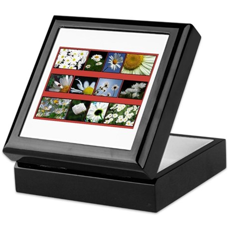 Flowers Keepsake Box