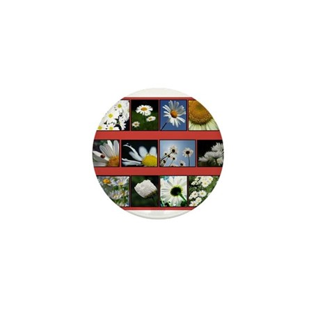 Flowers Mini Button (100 pack)