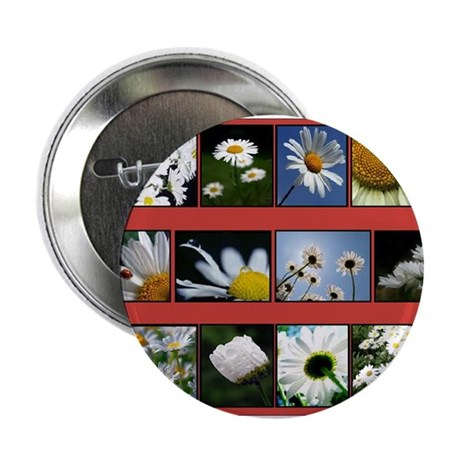 """Flowers 2.25"""" Button (10 pack)"""