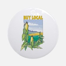 Buy Local Ornament (Round)
