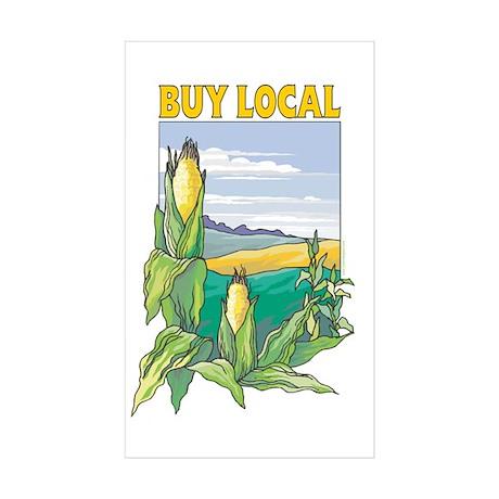 Buy Local Sticker (Rectangle 10 pk)