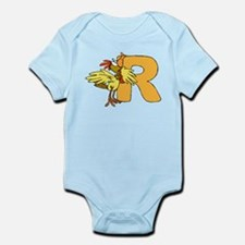 R is for Rooster Infant Bodysuit