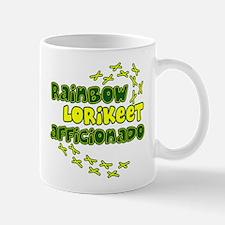 Afficionado Rainbow Lorikeet Mug