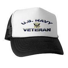 U. S. Navy Veteran Trucker Hat