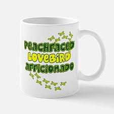Afficionado Peachface Lovebird Mug