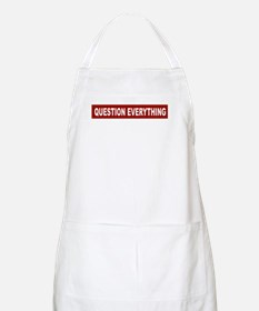 Question Everything - Red BBQ Apron