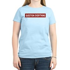 Question Everything - Red T-Shirt