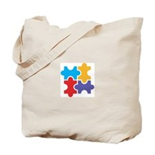 ASD Puzzle Tote Bag