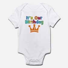 It's Our Birthday (1) Infant Bodysuit