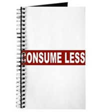 Consume Less - Red Journal