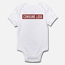Consume Less - Red Infant Bodysuit
