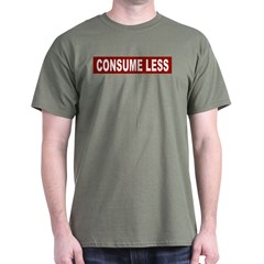 Consume Less - Red T-Shirt