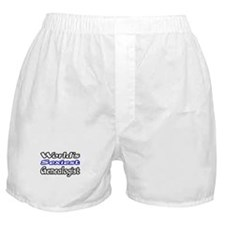 """World's Sexiest Genealogist"" Boxer Shorts"