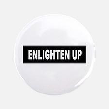 "Enlighten Up - Black 3.5"" Button (100 pack)"