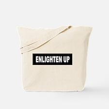 Enlighten Up - Black Tote Bag