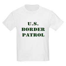 BORDER PATROL UNITED STATE BO Kids T-Shirt
