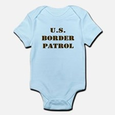 BORDER PATROL UNITED STATE BO Infant Creeper