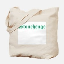 Stonehenge Green - Tote Bag