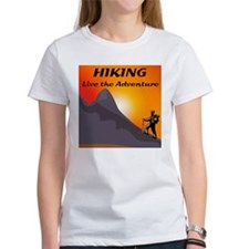 Hiking Live The Adventure Tee