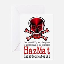 Hazardous Material - Greeting Card