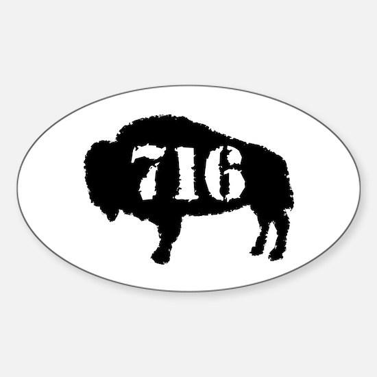 716 Sticker (Oval)