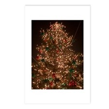 Christmas Tree Ablaze!   Postcards (Package of 8)