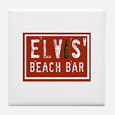 Elvis' Btl Logo Tile Coaster