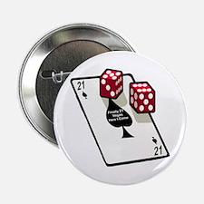 "Vegas 21st Birthday Gift 2.25"" Button"