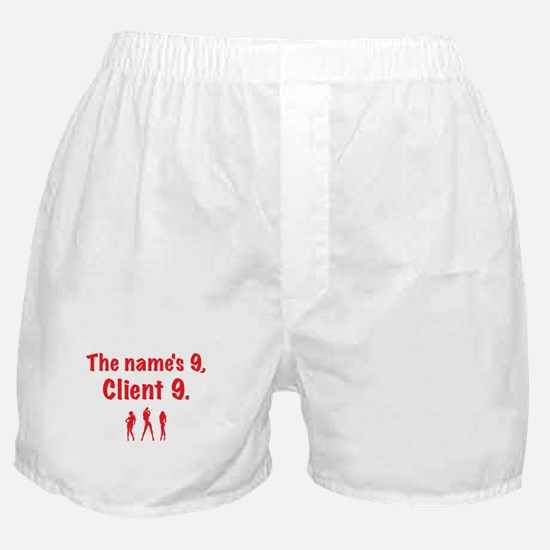 Client 9 Red Boxer Shorts