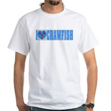 I Love Crawfish Tiles Shirt