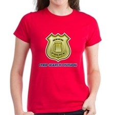 Beer Police: Strip Search Tee