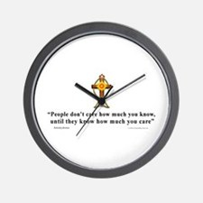 Anonymous Quote 1 Wall Clock