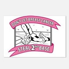 Funny Breast cancer walk Postcards (Package of 8)