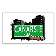 CANARSIE ROAD, BROOKLYN, NYC Rectangle Decal