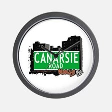 CANARSIE ROAD, BROOKLYN, NYC Wall Clock
