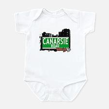 CANARSIE ROAD, BROOKLYN, NYC Infant Bodysuit