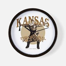 Kansas - Keeping Us Safe... Wall Clock