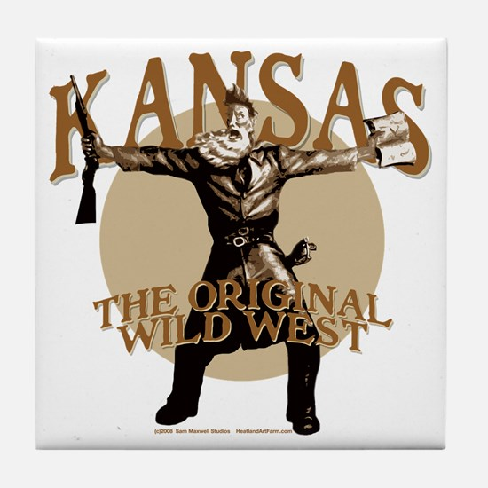 Kansas - Keeping Us Safe... Tile Coaster