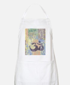 Om Abstract BBQ Apron