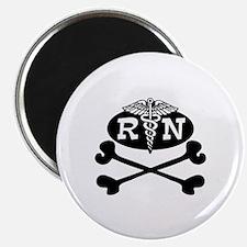 Pirate Nurse Magnet