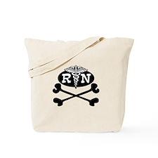 Pirate Nurse Tote Bag