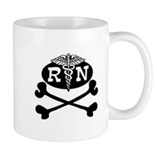 Pirate Nurse Mug