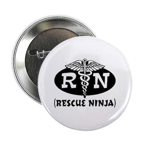 "Ninja Nurse 2.25"" Button"