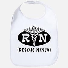Ninja Nurse Bib