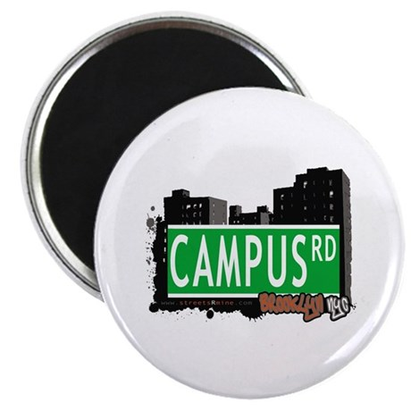 "CAMPUS ROAD, BROOKLYN, NYC 2.25"" Magnet (10 pack)"