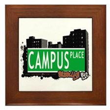 CAMPUS PLACE, BROOKLYN, NYC Framed Tile